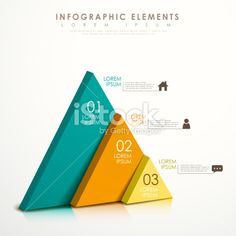 abstract triangle infographics Royalty Free Stock Vector Art Illustration