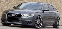 Modified Audi A6 Avant (4th generation, C7 Typ 4G)