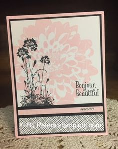 Definately Dahlias, Serene Silhouettes, Stampin' Up!, BJ Peters, Everyday Chic, #stampinbj, #bjpeters