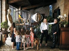 La Dolce Villa: Inside Roberto Cavalli's Opulent Florence Estate - The Veranda from InStyle.com
