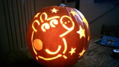 #peppapig pumpkin