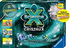 Ravensburger - 18788 - Jeu Educatif et Scientifique - Mini Science X - Cristaux