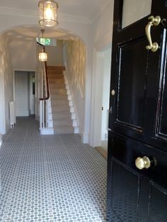 glamourous and simple entrance hall photo of Holiday cottages in Dulverton, Exmoor, Somerset   The Mount sleeps 10 for year 2013   Helpful Holidays