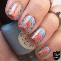sons of adam, blue, nail art, nails, nail polish, indie polish, polish those… Rust, Sons, Beauty Nails, Indie, Inspired, Nail Polish, Blue Nail, Fashion Beauty, Art Boards