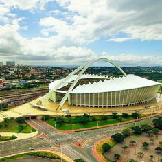 When in #Durban it is a most to visit the Moses Mabhida Stadium…