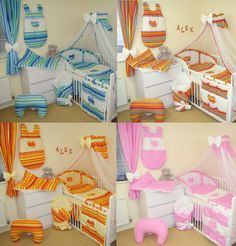 10 PCS BABY BEDDING SET 15 DESIGNS HEARTS FOR COT OR COTBED 120x60/ 140x70