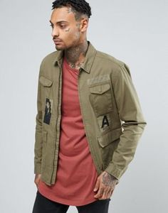 ASOS Overshirt With Four Pockets