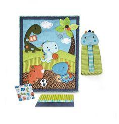 Kids Line Dino Sports 4 Piece Crib Bedding Set (Discontinued by Manufacturer) Baby Cubs, Kids Line, Dinosaur Nursery, Boy Quilts, Crib Bedding Sets, Number Two, Baby Boy Nurseries, Nursery Ideas, Cribs