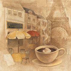 Metaverse Cafe De Paris Ii by Albena Hristova Canvas Art Abstract Canvas, Abstract Print, Canvas Artwork, Canvas Prints, Big Canvas, Canvas Paintings, Canvas Size, Frames On Wall, Framed Wall Art