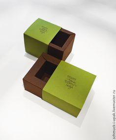 Коробки на заказ малым тиражом! Коробка-пенал с цветной печатью логотипа, для украшений :)