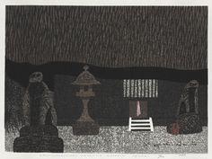 Kiyoshi Saito, Okuno-Hosomichi, Kasajima Dosojin, Sendai, 1965