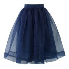Buy Tulle Dark Blue Skirt on Spredfashion. FREE shipping and FREE returns. Tulle Dark Blue Skirt is perfect for any occasion or style!