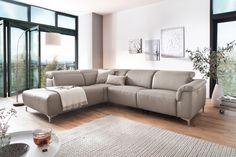 Variabilní sedací souprava v mnoha sestavách, materiálech a barvách.  Sedací souprava má řadu přídavných funkcí, které vám zpříjemní odpočinek :-) Relax, Couch, Elegant, Furniture, Model, Home Decor, Armchairs, Contemporary Design, Get Tan