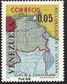 Lucha Numismática y Postal por la Guayana Esequiba  Medalla Reclamación de su Guayana 1964  Lucha Numismática y Postal por nuestra Guayana Esequiba. Por Víctor Torrealba La Guayana Esequiba también conocida como Territorio del Esequibo es el nombre de una parte del llamado escudo guayanés comprendida entre el oeste del río Esequibo hasta el hito en la cima del monte Roraima. Tiene una extensión de 159 542 km que la República Cooperativa de Guyana administra como propio pero cuya soberanía…