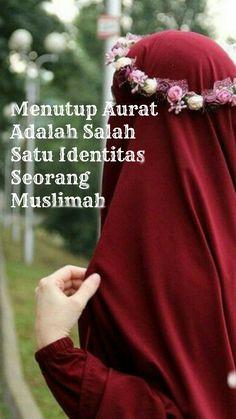 Kalo ngaku muslimah, harusnya ikhlas nutup aurat donk