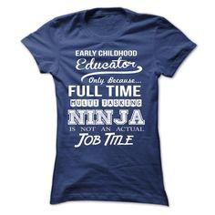 EARLY CHILDHOOD educator ninja