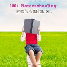 100+ Homeschooling Lesson Plans and Printables perfect for making a year full of learning and fun! Plus some of my favorite homeschooling sites!