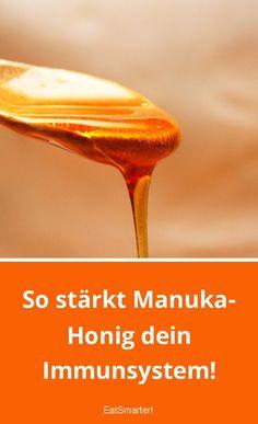 So stärkt Manuka-Honig dein Immunsystem!   eatsmarter.de Keto, Medicine, Nature, Corona, Honey Images, Manuka Honey, Fungal Infection, Honey Bees, Natural Remedies