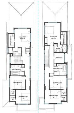 Build your dream dual occupancy home with Carter Grange. Call us on 1300 244 663 or visit one of our show homes to explore the beauty of our unique designs. Home Builders Melbourne, Plan Design, Investment Property, House Floor Plans, Luxury Living, Townhouse, Concrete, New Homes, Houses