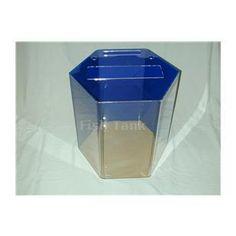 <p>Model 20Hex clear acrylic aquarium MYFISHTANK.COM offers the…