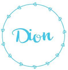 Geboortesticker type Dion