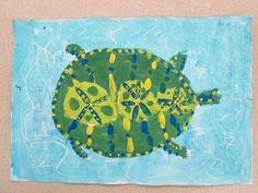 Second Grade Art 4 Kids, Second Grade, Turtles, Education, Projects, Ideas, Art, Tortoises, Log Projects