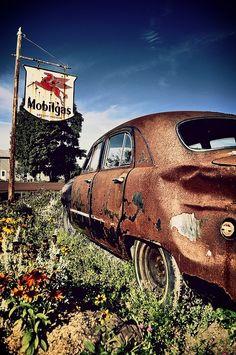 Patina or just plain Rust? You be da judge.
