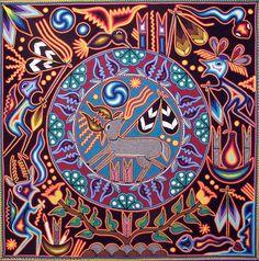 """When you plant a seed of love, it is you that blossoms."" Ma Jaya Sati Bhagavati - Art: Huichol Visionary Art"