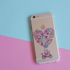 BICYCLE LOVE  PHONE CASE