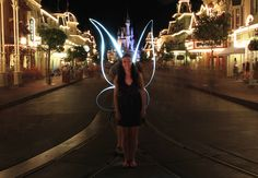 'Light Painting' Once Again Takes Art into Midair Inside Magic Kingdom Park