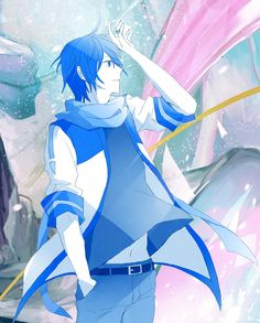 Kaito vocaloid Vocaloid Kaito, Kaito Shion, Anime Kawaii, Kawaii Art, I Love Anime, Me Me Me Anime, Manga, Cosplay Tutorial, Cool Drawings