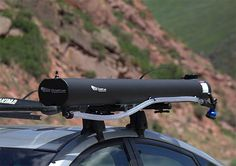 Road Shower - The Road Shower mounts to your roofrack, is solar heated and holds 5 gallons of water that you pressurize with a little shot of CO2. | Werd