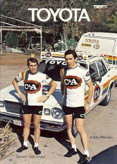 Lucien van Impe & Eddy Merckx