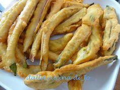 ''dalla cucina di Jo'': Melanzane perline e zucchinette col fiore in paste...