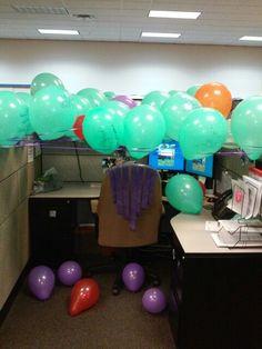 cubicle birthday ideas