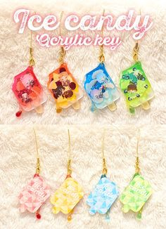 Acrylic Charms, Resin Charms, Acrylic Resin, Artist Alley, Kawaii Jewelry, Shrink Plastic, Keychains, Cool Designs, Stationery