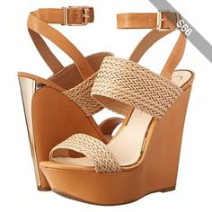 Jessica Simpson Eila Women's Wedge Shoes, Beige