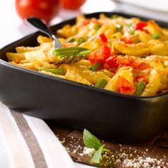 Recette de Gratin de pâtes aux légumes et au thon avec Knorr® - Ma vie en couleurs