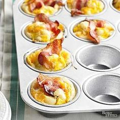 Bacon-and-Egg Muffin