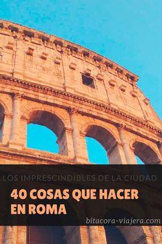 Agripa Aunque por el ruido que hace la gente adentro no pareciera, el Panteón es un templo y está Travel Packing, Travel Tips, Travel Blog, Places To Travel, Places To Visit, I Know A Place, Best Of Italy, Eurotrip, Travel Information