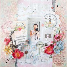 Layout for OUAS/ Страничка для блога OUAS #ouas, #prima ppp, #imaginarium designs, #ingvild bolme