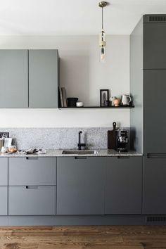 54 modern kitchen design ideas and kitchen cabinets 2019 43 - Küchenmöbel Modern Kitchen Design, Interior Design Kitchen, Home Design, Design Ideas, Kitchen Designs, Diy Interior, Modern Design, Asian Interior, Coastal Interior