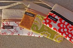 Wristlets by javajem. I think these would function well for so many things. Pencil case? Makeup bag? Walking the dog bag?  Playing in the park essentials?
