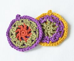 African Mandala Necklace: FREE pattern | LillaBjörn's Crochet World