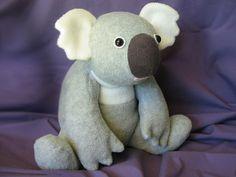 Kiki Koala Soft Toy Sewing Pattern INSTANT DOWNLOADFunky Friends Factory