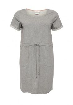 Платье, Junarose, цвет: серый. Артикул: JU008EWPQE60. Женская одежда / Платья и сарафаны