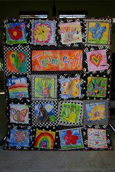 The Wench Quilts: Kindergarten Quilt