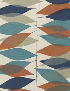 mid century appeal in a vertical stripe