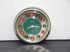 Vintage Hamilton Carriage Style Anniversary Clock Made In