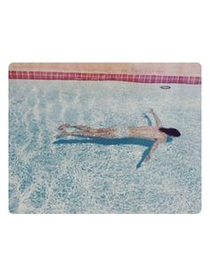 David Hockney, John St. Clair Swimming (from Twenty Photographic Pictures), 1972